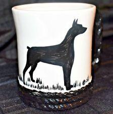 Handmade Doberman Pinscher Coffee Mug Euc