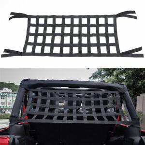 For Jeep Wrangler Jk Tj Yj Cargo Net Back Window Extra Storage Roof Net Hammock