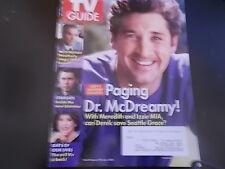 Patrick Dempsey, Lea Michele, Michael Weatherly - TV Guide Magazine 2009