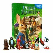 PETER RABBIT My Busy Book Play Set Including Story Book, 12 Figures & Play mat