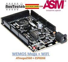 WeMOS Mega + WiFi R3 ATmega2560 + ESP8266 USB-TTL for NodeMCU Arduino Mega
