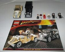 Lego 7682 Lego Indiana Jones SHANGHAI CHASE 5 minifigs manual retired from 2009