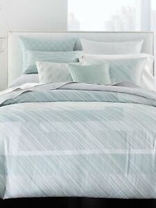 Hotel Collection Layered Frame King Comforter Color Jade Green Tones