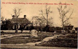 PC Site Old Capitol Building House of Burgesses Met Williamsburg Virginia~135709