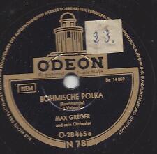 Max Greger mit seinem Orchester : Böhmische Polka = Rosamunde