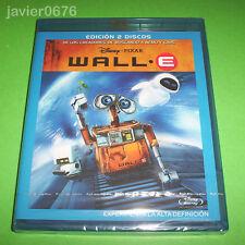 WALL-E DISNEY PIXAR BLU-RAY NUEVO Y PRECINTADO EDICION 2 DISCOS.