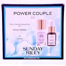 Sunday Riley Power Couple Duo Kit Good Genes Luna Sleeping Night Oil Retinol BOX