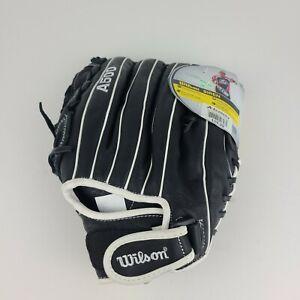 "Wilson Siren Series A500 Adult 12"" Leather Softball Glove Left Hand Throw"