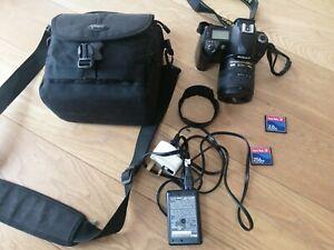Nikon D70s Camera Digital Black Carry Case & Accessories