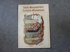 1960s Booklet-Turkish Miniatures-Set di (6) Art Prints-Vintage Reproduction.rare
