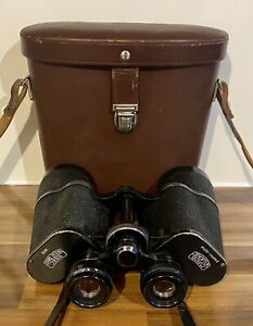 Carl Zeiss DDR Binoculars Jenoptem 10x50W Multi-Coated With Case Working Order