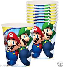 2 pkgs Super Mario Bros Hot Cold Paper Cups 8pcs Party Supplies Tableware