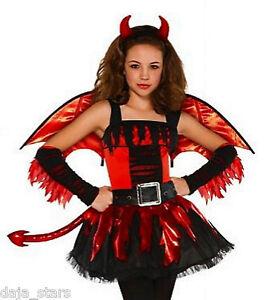 ★ Amscan Teufel,Devil,Teufelin Kostüm Kinderkostüm,Teufelkostüm,128-168