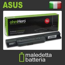Batteria Ohmhero™ 10.8-11.1V 5200mAh REALI per asus K53S