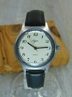 Luch 23 jewels cal. 2209 vintage mechanical mens Soviet Russian watch