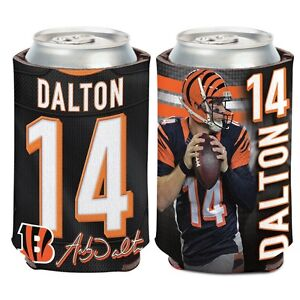 Cincinnati Bengals Wincraft #14 Andy Dalton 12oz Can Coolie FREE SHIP