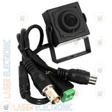 Mini Micro Telecamera PinHole Professionale CCD Sony Ex-View 700TVL 0.005lux 90°