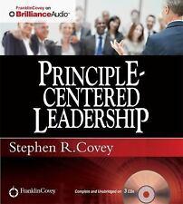 NEW 3 CD Principle-Centered Leadership  Stephen Covey (Unabridged)