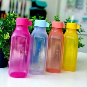 Tupperware lot 4 bouteilles 500 ml eco + recyclables