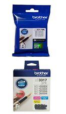 4 Inks SET Brother Genuine 1x LC3317BK BLACK + 1x LC33173PK C/M/Y For J5330DW