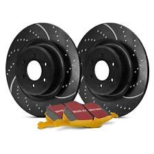 REAR EBC GD239 3GD DRILLED /& SLOTTED SPORT BRAKE ROTORS