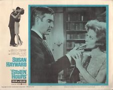 "Susan Hayward Stolen Hours Original 11x14"" Lobby Card #M8362"