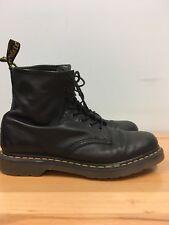 Dr Martens Docs Mens Air Wair Bouncing Soles Black Boots Lace Up Vintage Size 12