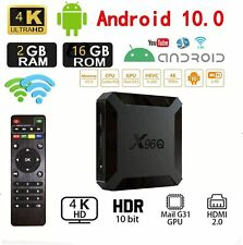 Smart TV Box X96Q Android 10.0 Allwinner H313 Quad Core 2GB 16GB Mini 2020 4KHD