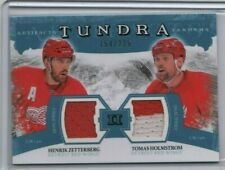 ZETTERBERG / HOLMSTROM 11-12 Upper Deck Artifacts Tundra Tandems 154/225