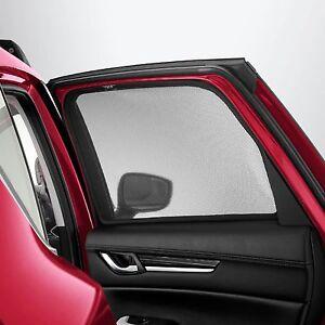 Mazda CX5 (KF) Rear Window Shades, sun protection, Genuine - KF11ACSRD