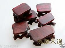 6pcs hard Wood Stand of Netsuke,Snuff bottle,Carving Display