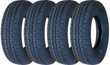 4 New Premium Grand Ride Trailer Tires ST205 75R14 / 8PR Load Range D - 11079