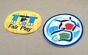 European Championship 1996 + Fair Play Sleeve Soccer Patch / Badge