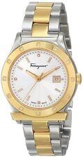 Salvatore Ferragamo Womens FF3080014 1898 DIAMOND Two-Tone Stainless Steel Watch