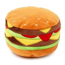 FuzzYard Plush Dog Toy - Hamburger
