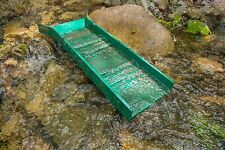 "FREE INTERNATIONAL SHIPPING   36"" Light Weight Hard Green ABS Plastic Sluice Box"