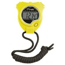 Champion Sports Digital Display Stop Watch, Neon Yellow