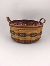 Longaberger 1995 Shades of Autumn Basket of Plenty Combo