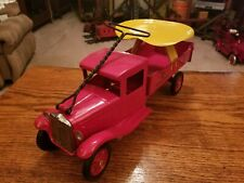 1933 buddy L sit and ride dump truck