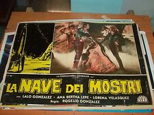 El Barco de Monstruos Fotobusta Original 1960 Tipo A