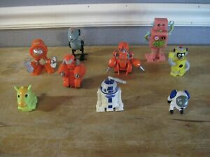 Mixed Lot Of Robot Figure Toys