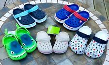 Crocs & Capelli Child Toddler Junior Water Shoes Pink Red Blue July 4th New
