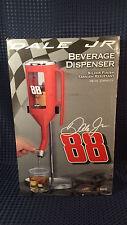 Nascar Beverage Dispenser Dale Earnhardt Jr 88 Red Silver 36 oz New