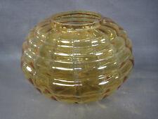 Ancien grand globe de lampe en verre vintage design 20ème