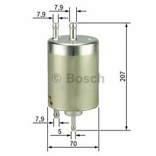 BOSCH Gasoline Injection Fuel Filter F026403000 - Single