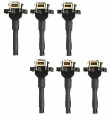 Set of 6 Delphi Direct Ignition Coils for BMW E30 E36 E34 325i 325is 525i M3 L6