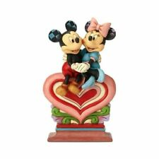 Disney Traditions 6001282 Heart to Heart Mickey and Minnie Mouse Figurine