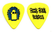 Cheap Trick Tom Petersson Rockford Yellow Guitar Pick - 2006 Rockford Tour