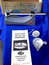Vintage Precision Reloading Powder Scale Model D-5 Ohaus /Lyman