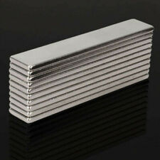 10Pcs N48 Super Strong Block  Rare Earth Neodymium 50X10X2MM